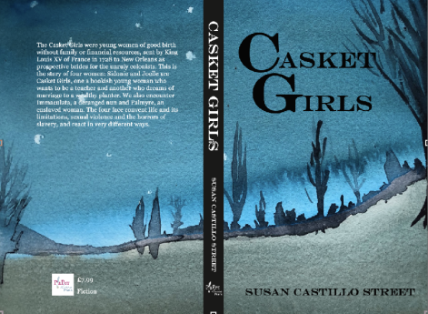 casket girls with blurb back cover
